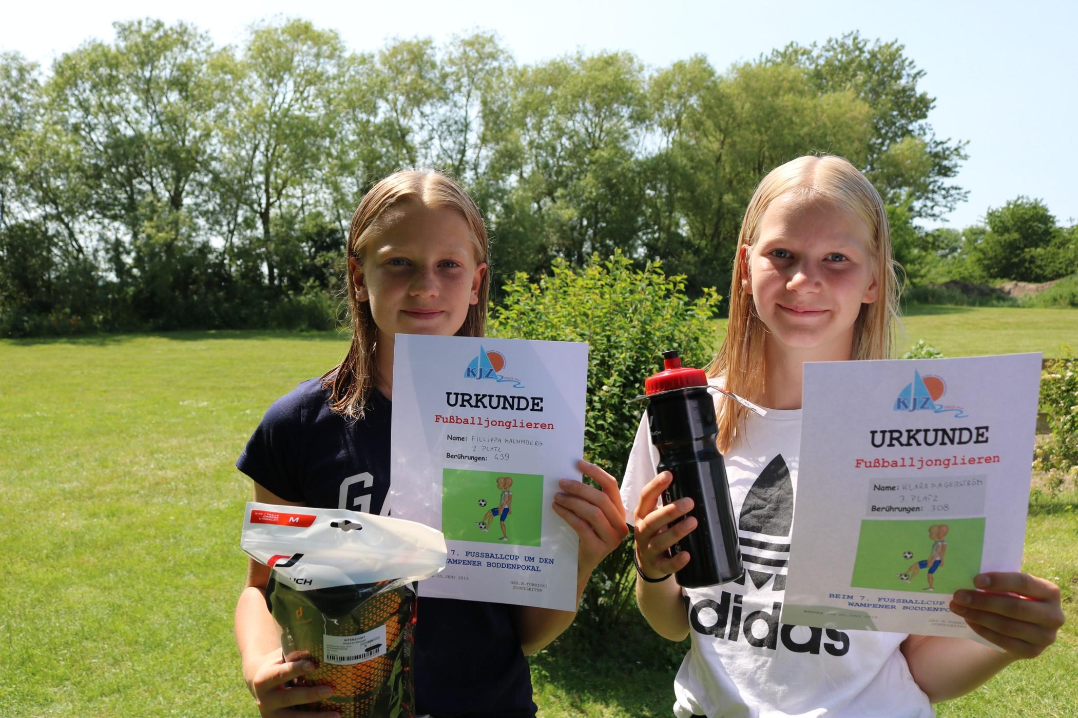 Rastelli-Gewinnerinnen aus Schweden