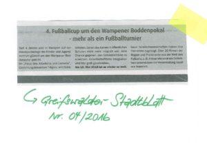 Greifswalder Stadtanzeiger 10.05.2016